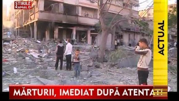 STIREA ZILEI - IADUL PE PAMANT: Israelul, tinta unor atacuri teroriste! Marturiile romanilor care au fugit din infern VIDEO