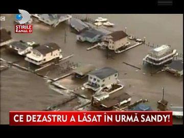 Uraganul Sandy A DISTRUS coasta de est a Statelor Unite. Pagubele sunt de ordinul ZECILOR de miliarde de dolari VIDEO