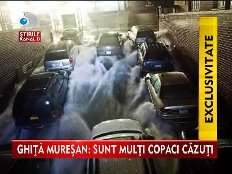 Uraganul Sandy a facut PRAPAD in SUA! Romanii aflati la fata locului fac marturii SOCANTE VIDEO