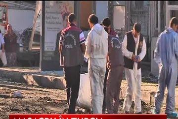 Masacru in Turcia: 8 morti si zeci de raniti intr-un atentat cu masina-capcana VIDEO