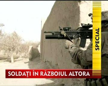 Soldati in razboiul altora. Un material realizat in exclusivitate din Afganistan pentru Stirile Kanal D! VIDEO