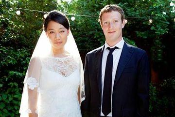 Mark Zuckerberg, fondatorul retelei Facebook, S-A CASATORIT in secret FOTO