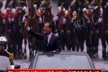 Investire cu ghinion pentru Francois Hollande! Avionul cu care se deplasa spre Berlin a fost lovit de fulger VIDEO