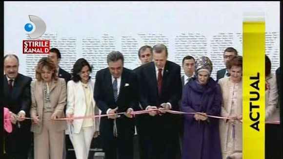 Donald Trump si familia Dogan au inaugurat Trump Towers in Istanbul VIDEO