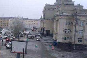 ATENTAT intr-o gara din Rusia: Cel putin 18 morti şi 40 de raniti in explozie. Atacul, comis de un terorist-kamikaze - VIDEO