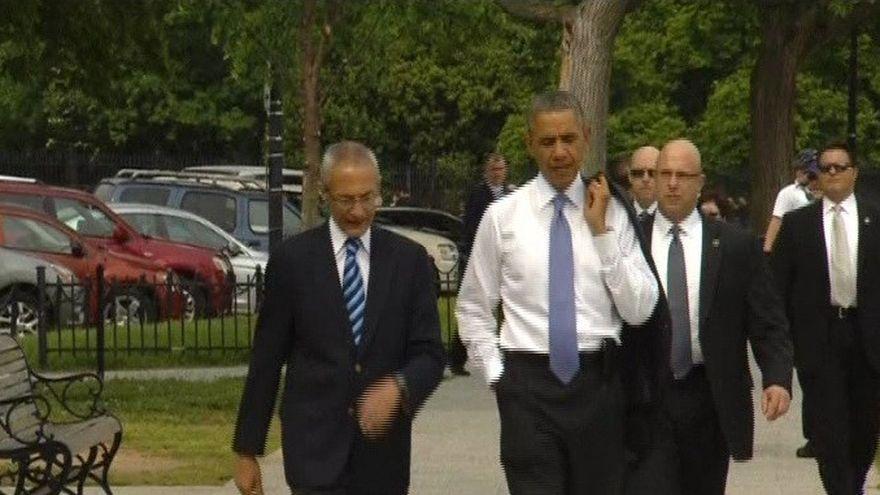Surpriza de proportii pentru turisti! S-au intalnit cu Barack Obama prin parc