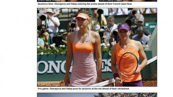 """""""Trucuri murdare"""" folosite de Sharapova pentru a castiga partida cu Simona Halep"""