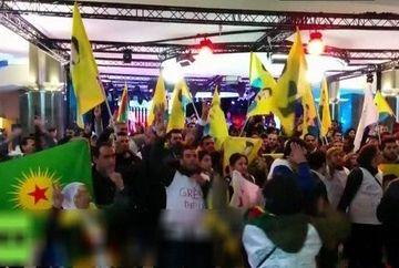 Panica in Parlamentul European! Cladirea a fost luata cu asalt si transformata in maidan