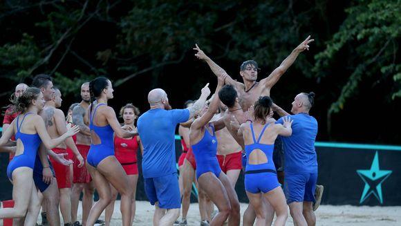 "Confruntarea teribila intre Razboinici si Faimosi a inceput aseara, la 19:30! ""Exatlon"", primul loc pe National!"