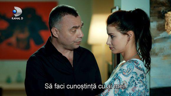 """Hizir o prezinta pe Nazli familiei! Azi, in cel de-al doilea episod din serialul """"In bataia inimii"""", de la 20.00, la Kanal D"""