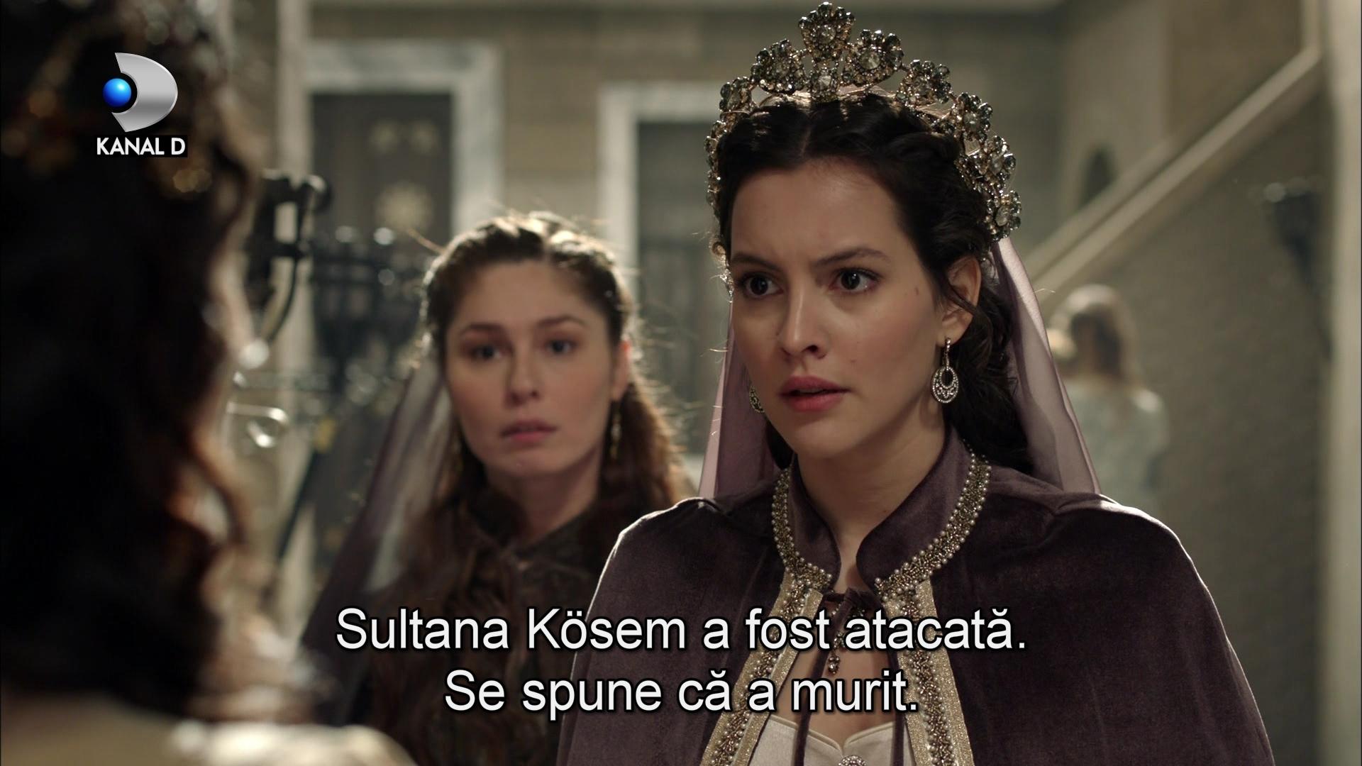 """Dragostea invinge: Sultanul Murat ii cruta viata Printesei Faria! Nu rata un nou episod din """"Kosem"""", azi, de la ora 20.00, la Kanal D"""
