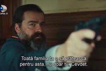 Comandantul Vasili afla adevarul despre misiunea secreta a lui Cevdet! Familia patriotului urmeaza sa fie executata! Afla cine este cel care il va trada si va dezlantui dezastrul asupra familiei sale, in aceasta seara, de la ora 20:00, la Kanal D!