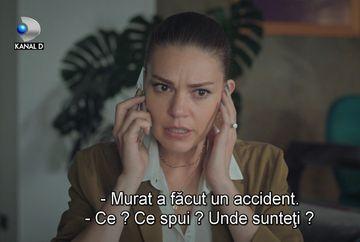 Familia Boran primeste o noua lovitara: Murat sufera un grav accident! Afla ce se va intampla cu tanarul si cum va reactiona Esma la cumplita veste, in aceasta seara, de la ora 20:00, la Kanal D!