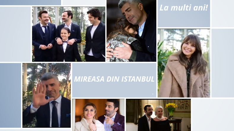 """Actorii din serialul """"Mireasa din Istanbul"""", urari inedite de Anul Nou, pentru fanii lor din toate colturile lumii! Iata ce mesaje haioase au transmis indragitii protagonisti!"""
