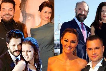 Cuplul-simbol al zilei indragostitilor 2018! Iata care sunt cele mai frumoase si longevive cupluri de actori celebri din Turcia care au ocupat podiumul!