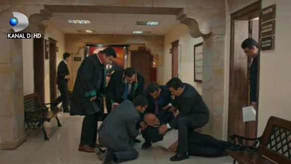 """Batranul Fazil, in pericol de moarte! Afla ce se va intampla cu stalpul familiei Gorecki, in aceasta seara, intr-un nou episod din serialul """"Dragoste si ura"""", de la ora 19:45, la Kanal D!"""