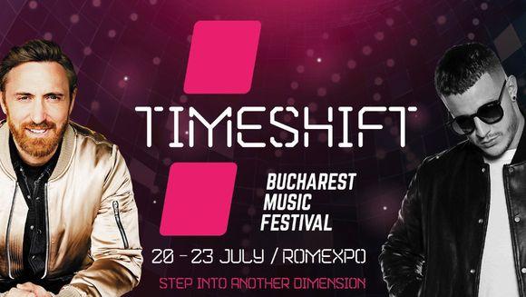 David Guetta vine in Romania, la TIMESHIFT Bucharest Music Festival!
