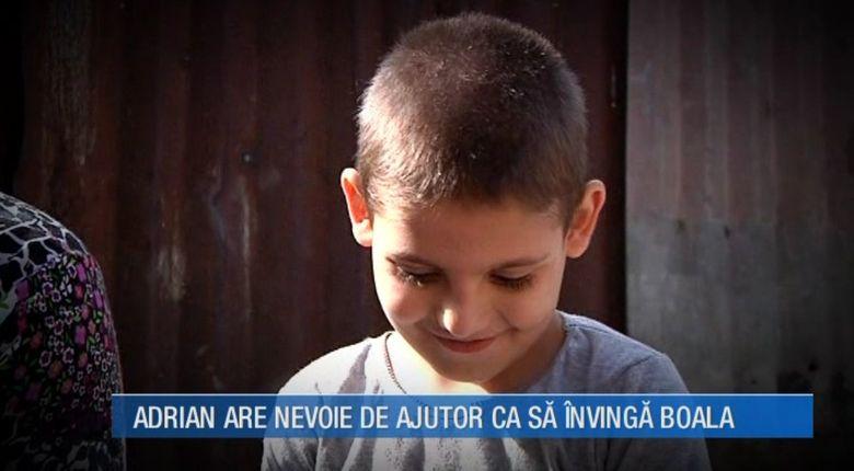 La numai 8 ani Adrian sufera de cancer la ficat si stomac! Parintii fac tot ce le sta in putinta ca sa il salveze