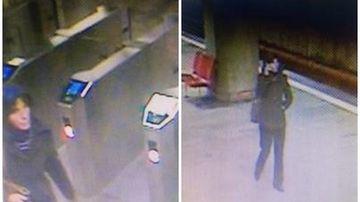 Imaginile din timpul atacurilor: tanara agresata la statia Costin Georgian a opus rezistenta si a reusit sa fuga, cea de la Dristor era neatenta pentru ca se uita pe mobil