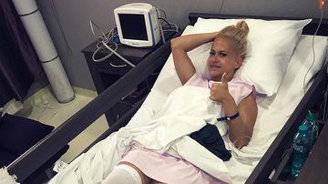 Anda Adam, primul mesaj dupa operatia complicata pe care a suferit-o la genunchi! Iata cum se simte artista