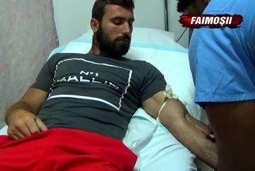"""Andrei Stoica, dus de urgenta la spital dupa ce si-a speriat colegii pe terenul de joc: """"Bai, simt ceva acolo!"""" Ce diagnostic i-au pus medicii"""