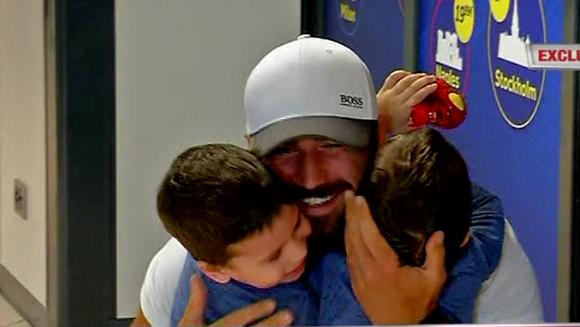Imagini coplesitoare! Andrei Stoica a revenit in sanul familiei sale! Copiii sai i-au oferit cel mai dulce moment! Iata cum a reactionat fostul concurent de la Exatlon!