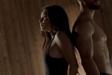 Imagini incendiare cu celebra Inna si Bruce de la Faimosii intr-un videoclip extrem de senzual! Nu a fost niciodata difuzat pe TV! Imagini aici