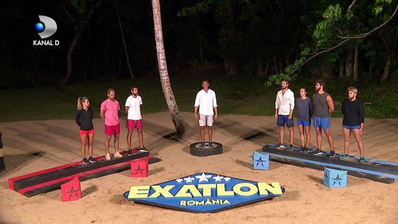 TREI eliminari vor avea loc in TREI zile la Exatlon! Cine a pierdut meciul pentru supravietuire de sambata si va trimite un concurent acasa