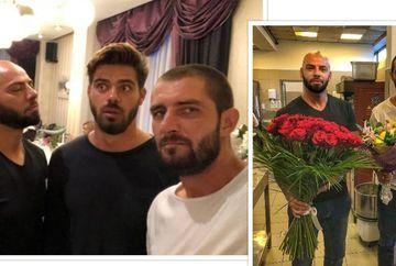Giani Kirita, Catalin Cazacu si Stefan Floroaica, fosti concurenti la Exatlon, s-au reunit la ziua uneia dintre cele mai iubite vedete din Romania! A fost surpriza, s-au ascuns cu florile in bucatarie!! Cine a fost norocoasa