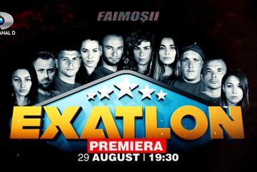 EXATLON Romania - sezonul 2: lista completa a concurentilor din Echipa Faimosilor