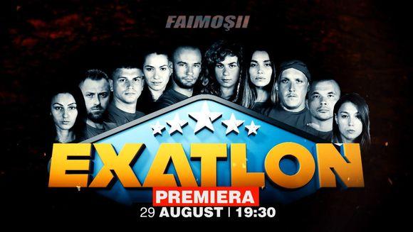 "Fenomenul ""Exatlon"" revine miercuri, 29 august, la 19:30!"