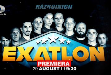 EXATLON Romania - sezonul 2: lista completa a concurentilor din Echipa Razboinicilor