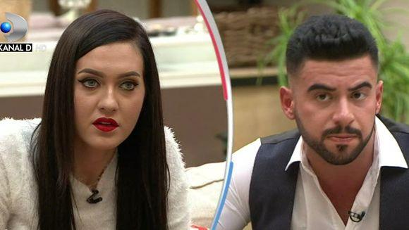 """Bianca si Bogdan, confruntare aprinsa, in casa """"Puterea dragostei""""! Si-a pierdut concurenta si ultimul prieten din competitie? Iata de la ce anume a plecat totul!"""