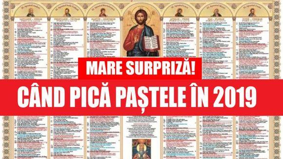 Veste pentru toti romanii: e vorba despre zilele de Paste 2019!
