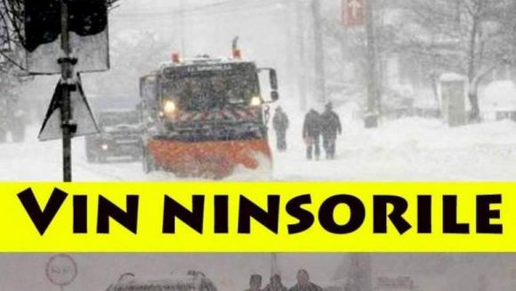 PROGNOZA METEO: ger, viscol si ninsori! Iarna se intoarce: uite cat de frig va fi