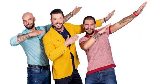 """Giani Kirita revine, din aceasta duminica, la """"cuib""""!Energicul sportiv si om de televiziune se intoarce la carma show-ului """"Vulturii de noapte"""", alaturi de colegii si bunii sai prieteni, Catalin Cazacu si Victor Slav"""