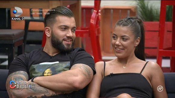 Prima reactie a Roxanei dupa ce Andy a spus ca isi doreste un cuplu cu Simina: ''Nu imi vine sa cred''