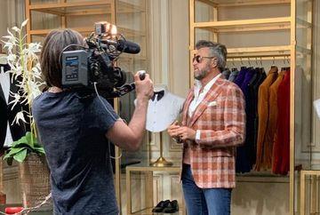 "Cum a debutat Catalin Botezatu in moda si care este legatura momentului cu sotii Ceasusescu? ""Erau multi Securisti care ne verificau pana si in pantofi"""