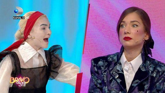 "Momente tensionate in platoul ""Bravo, ai stil!"" Bianca, acuzata de Corina ca are stilist! Afla cum va reactiona concurenta, in aceasta seara, de la ora 23:00, la Kanal D!"