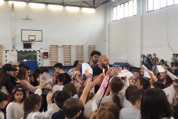 ''Ora de Exatlon'', un adevarat fenomen in scoli: Cum l-au strigat elevii pe Giani Kirita atunci cand l-au vazut?