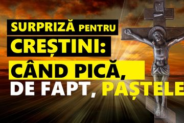 Cand pica, de fapt, Pastele ortodox si Pastele catolic 2019
