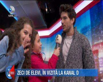 Zeci de copii au trecut pragul studiourilor Kanal D! Ce intrebari le-au pus cei mici vedetelor