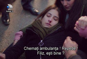 """Filiz, internata de urgenta, la spital! Afla ce anume i se intampla tinerei, in aceasta seara, intr-un nou episod din serialul """"Povestea noastra"""", de la ora 20:00, la Kanal D!"""