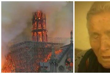 """Radio Europa Libera: Incendiul de la Catedrala Notre Dame, """"pedeapsă"""" divină sau tragedie prezisă de baba Vanga"""