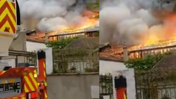 Franța arde din nou! Incendiu puternic în Versailles. Premonitia s-a adeverit?