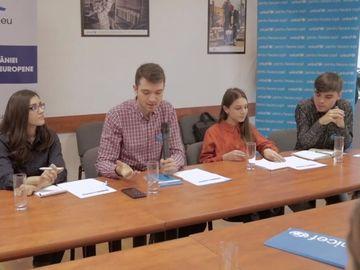 Copiii si adolescentii, implicati in dezbaterile care definesc viitorul Europei