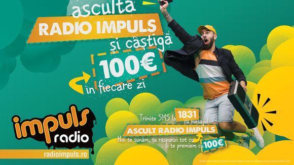 Asculta Radio Impuls si castiga, pe loc, 100 de Euro!