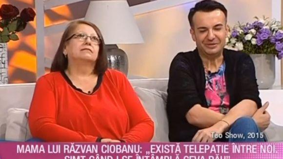 """Mama lui Răzvan Ciobanu a simțit moartea designerului?! """"Avem o legătură telepatică"""""""