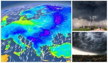 ANM prognoza meteo. Vremea rea face ravagii! România, lovită din nou