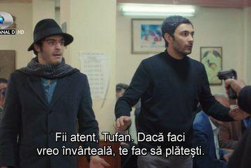 """Baris si Tufan, in pericol de moarte! Afla in ce afaceri riscante se implica cei doi prieteni, in aceasta seara, intr-un nou episod din serialul """"Povestea noastra"""", de la ora 20:00, la Kanal D!"""